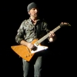 360: The Edge with his trademark Explorer (Melbourne, 2010)